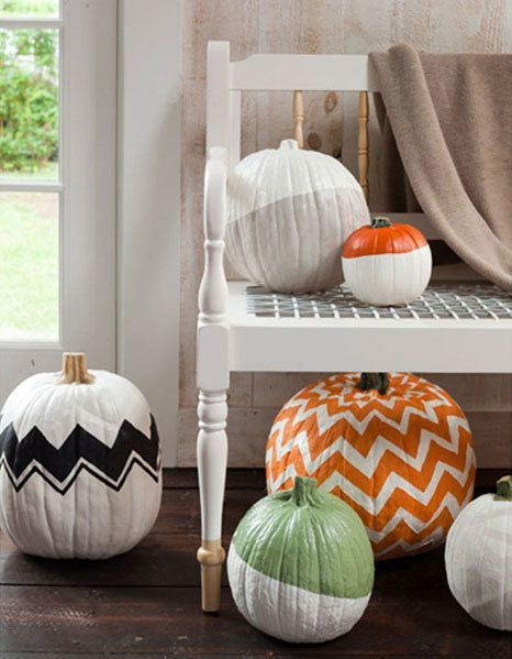 Alternative decorating ideas for your Halloween pumpkin Fall - ideas halloween decorations