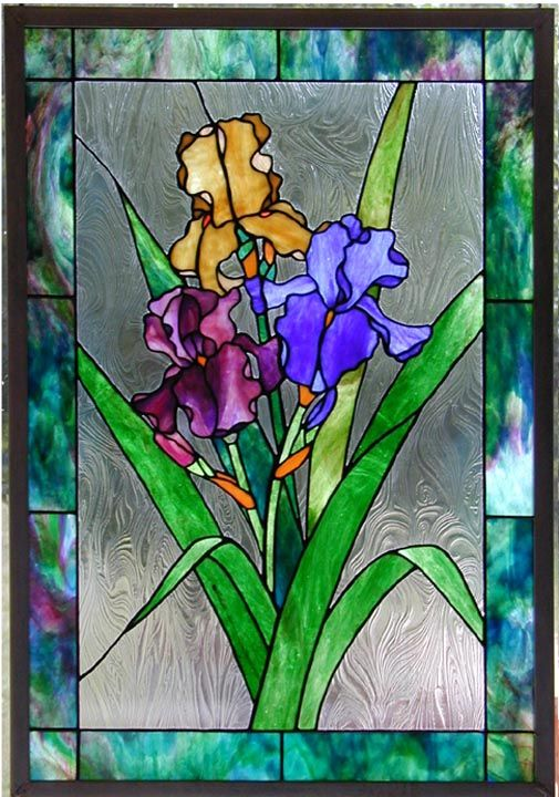 Stained Glass Panels Stained Glass Flowers