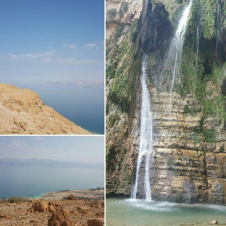 عين جدي البحر الميت Outdoor Waterfall Water