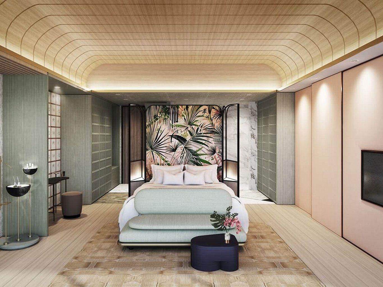 105 Inspiring Examples Of Contemporary Interior Design Https Www Mobmasker Com 105 In Hotel Room Interior Interior Design Styles Contemporary Interior Design
