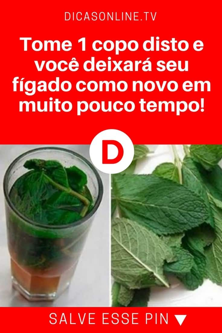 Receita Com O Hortela Para Poder Recuperar As Funcoes Do Figado