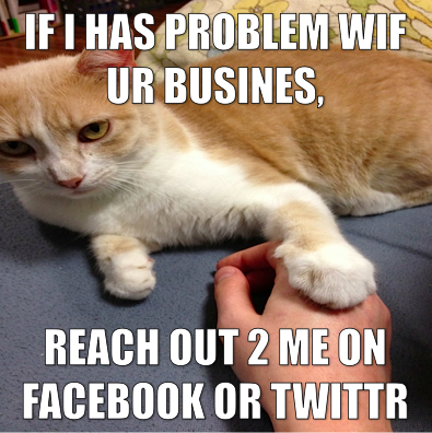 Always Keep Up With Your Fans On Social Networks Cat Memes Social Social Media