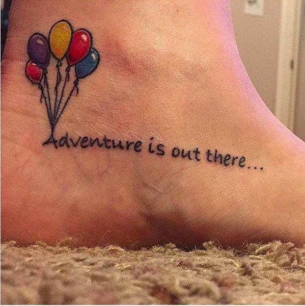 Tatuaggi Disney tattoo piccoli colorati per bambine cresciute