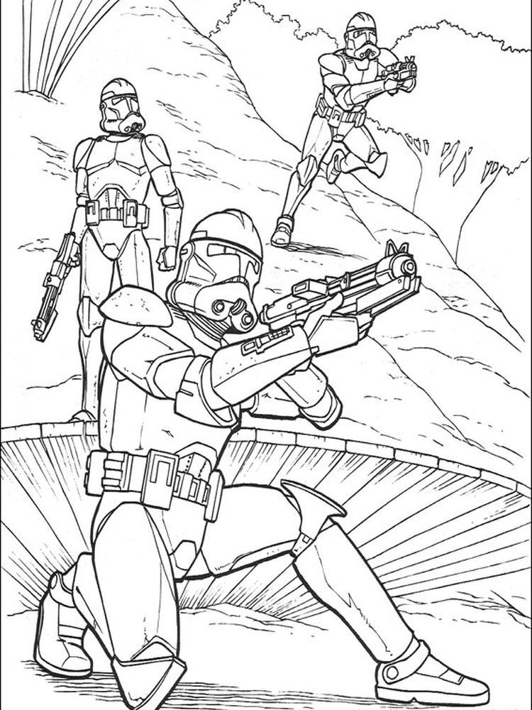 Star Wars Clone Coloring Pages Following This Is Our Collection Of Star Wars Coloring Page You Are Fr Star Wars Coloring Book Star Wars Colors Coloring Pages