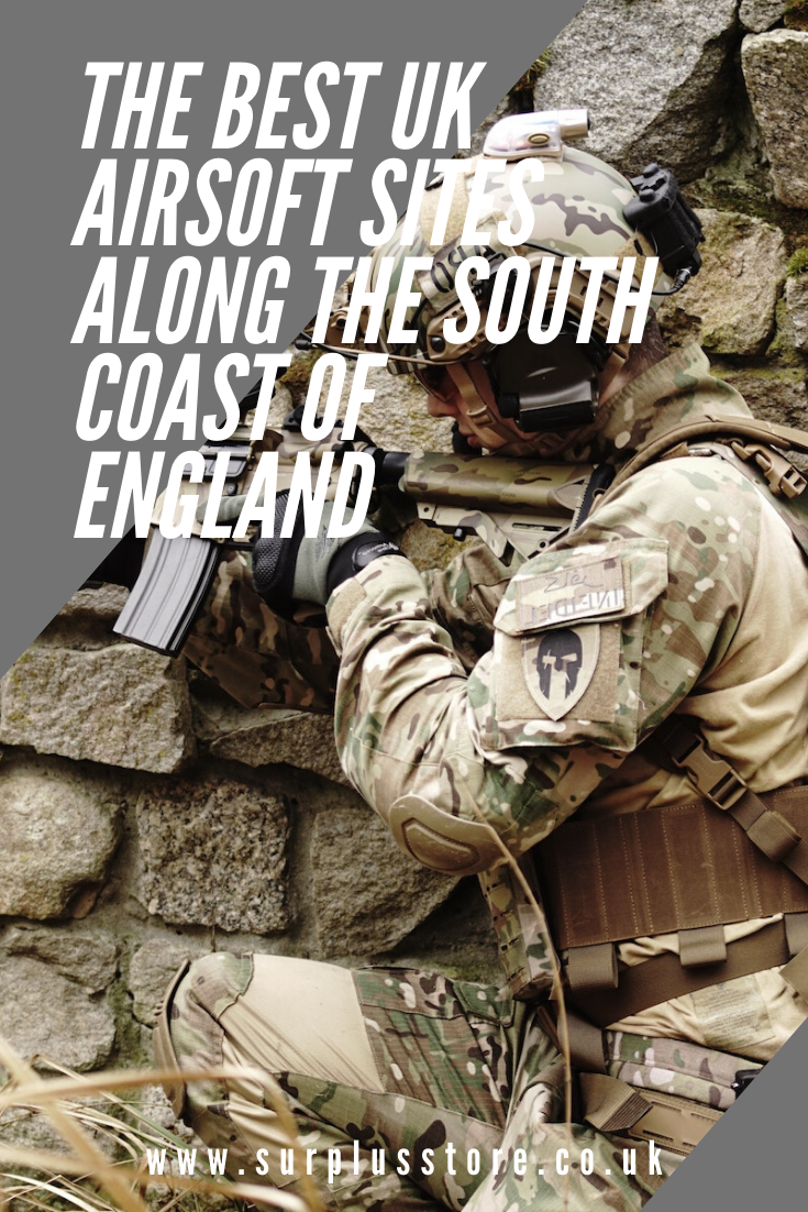 The Best UK Airsoft Sites Along the South Coast of England