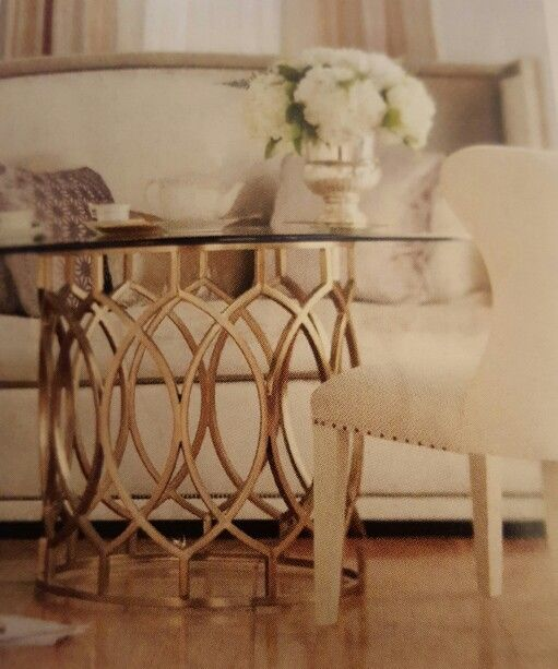Luv this table Salon by Bernhardt at Bernhardtcom Accent Decor