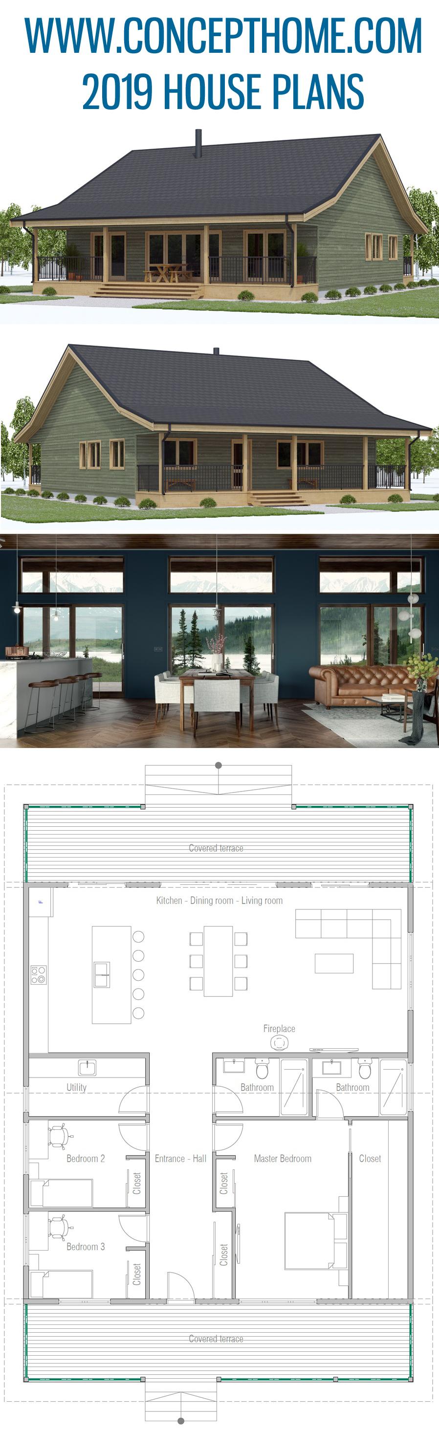 House Plan CH598