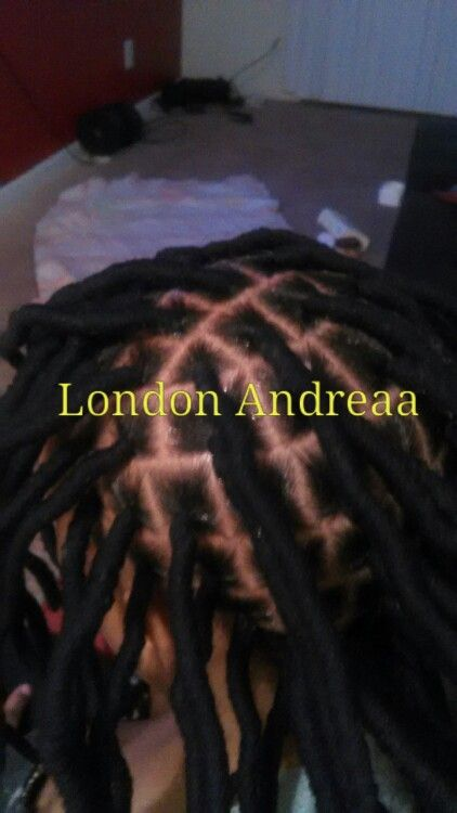 Faux Locs done by me 470-839-0947