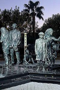 Desert Holocaust Memorial by Dee Clements, Palm Desert Civic Center Park