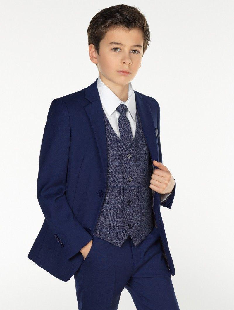 89a835065e81 Boys blue   navy suit - Kingsman
