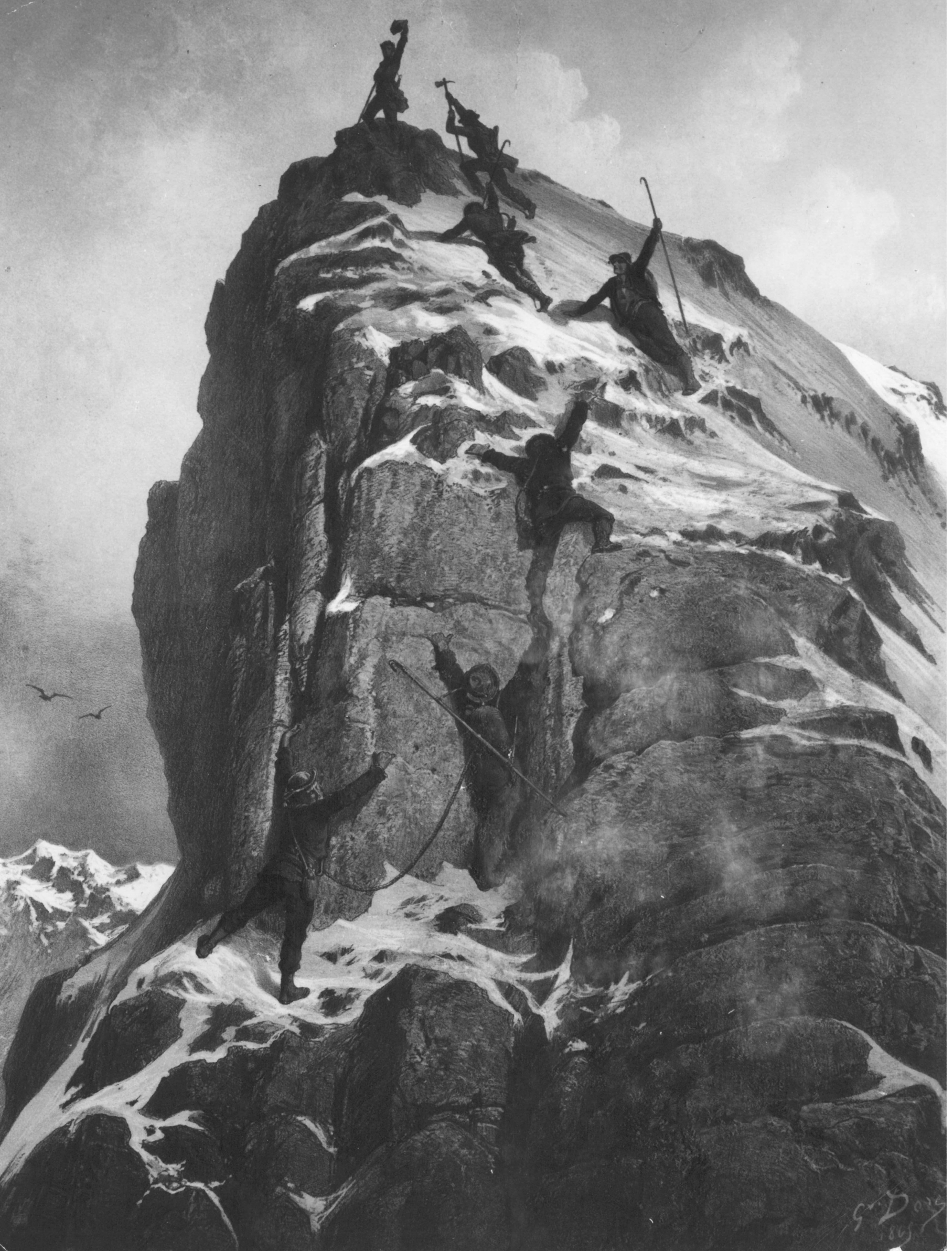 Die Geschichte des Matterhorns | Reiseziele | Zermatt ...
