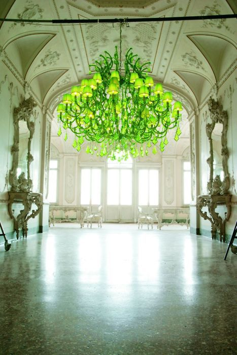 colored chandeliers | Tumblr