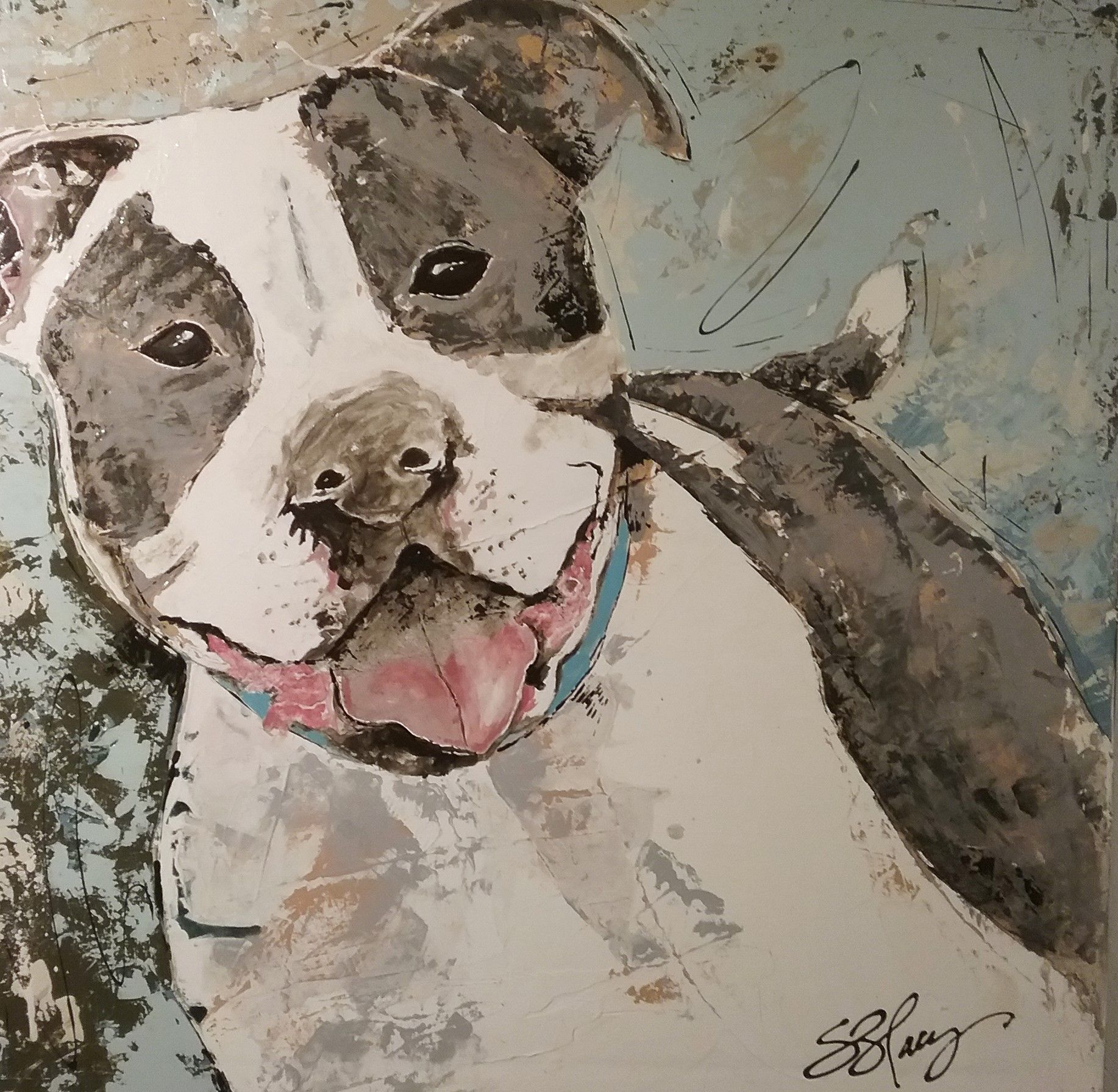 """New work at Palladio Interiors for our """"Dog Days of Summer Show"""" 2215 Central, Memphis 38104"""