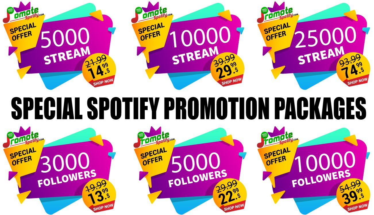 Spotify Package Spotify, Promotion, Streaming