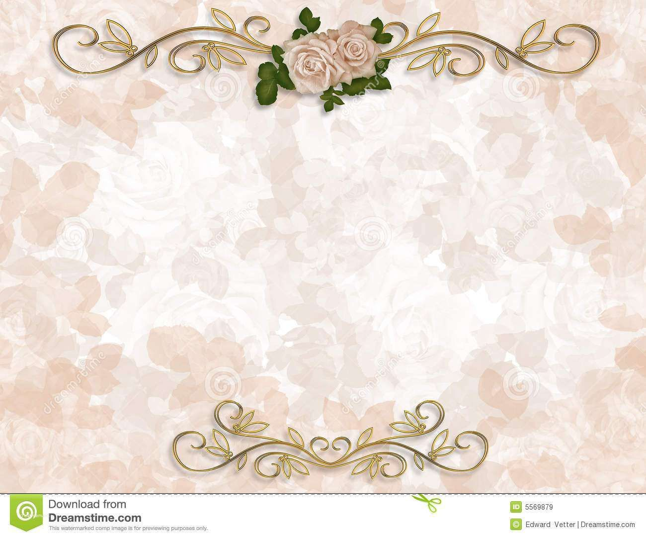 Fresh Wedding Invitation Background Designs Free Download Floral