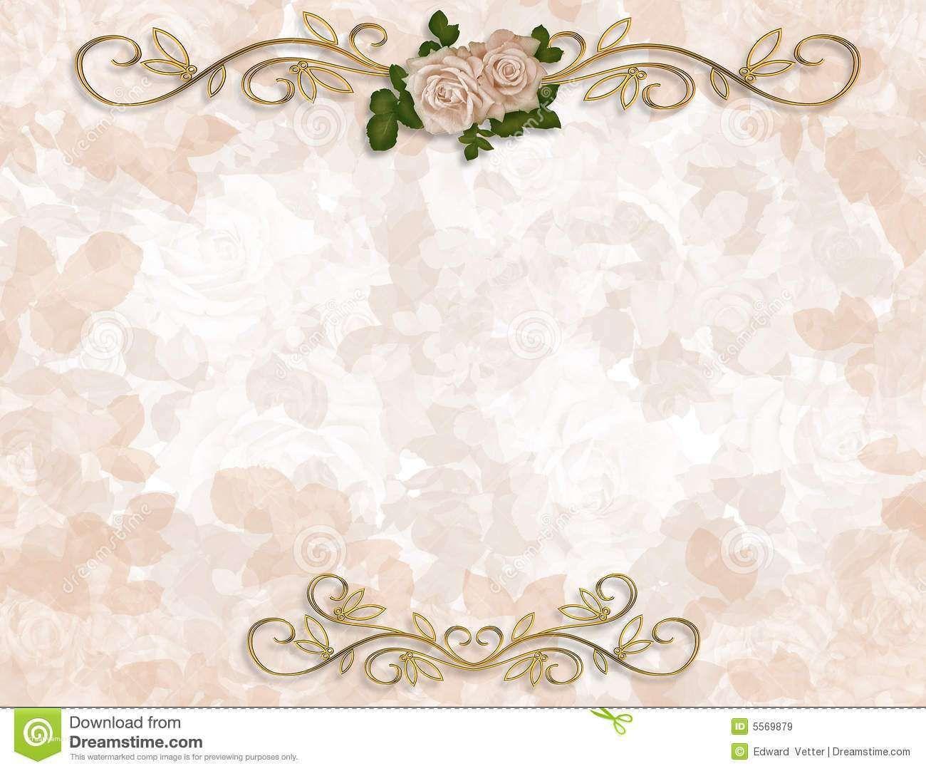 Fresh Wedding Invitation Background Designs Free Download | Floral ...