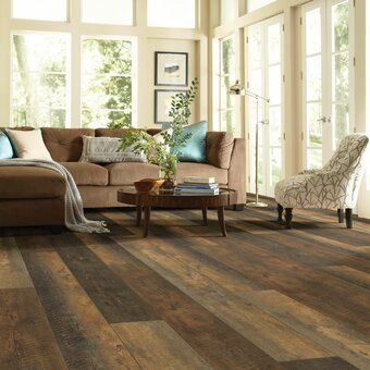 Restoration Collection 174 8 X 51 X 12mm Laminate Flooring In Char Vinyl Plank Flooring Shaw