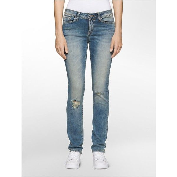 Calvin klein jeans mid rise super skinny
