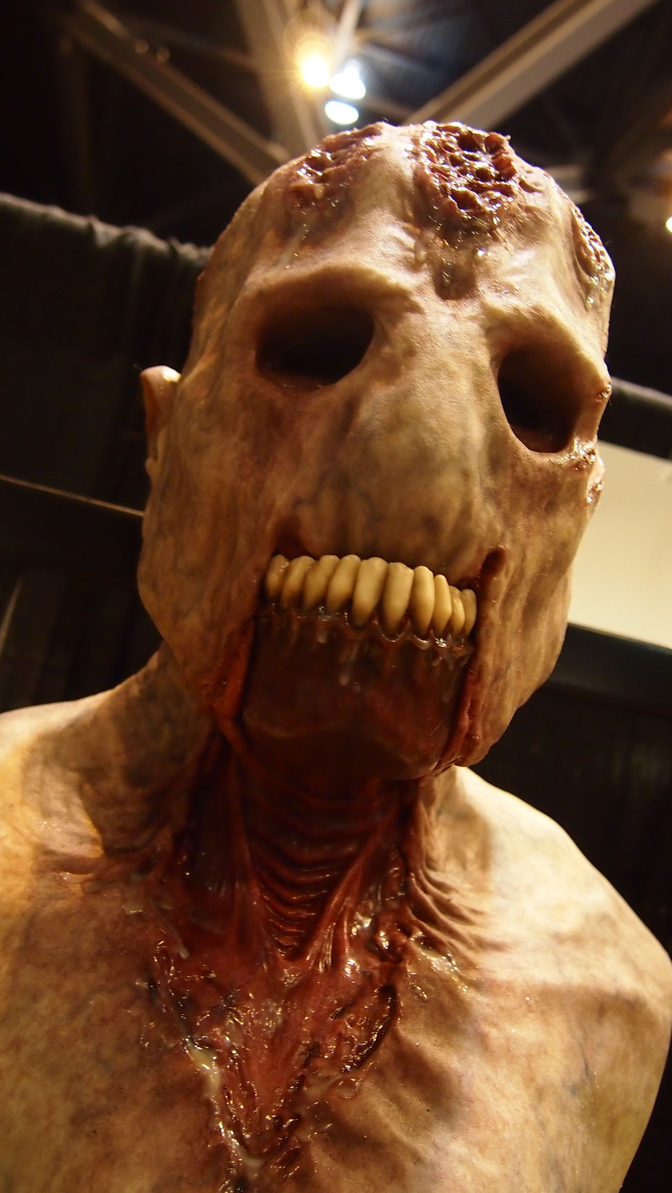 CFX silicone mask at the St. Louis Transworld Halloween and Haunt ...