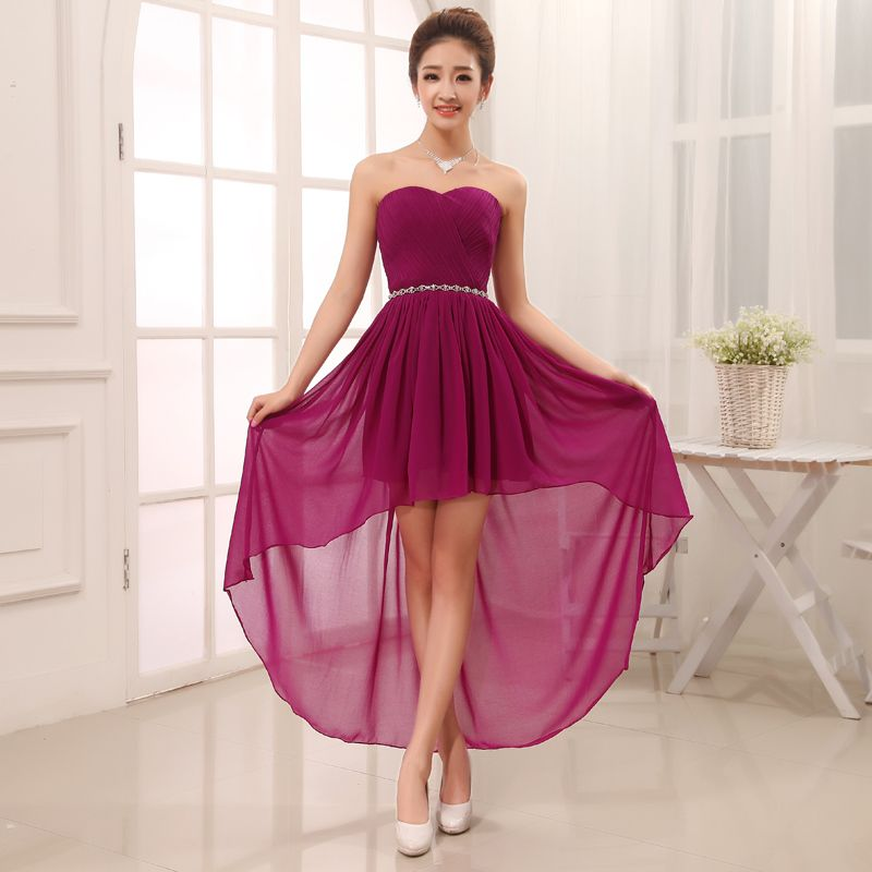 2014 bride and bridesmaids married short design one-piece dress ...