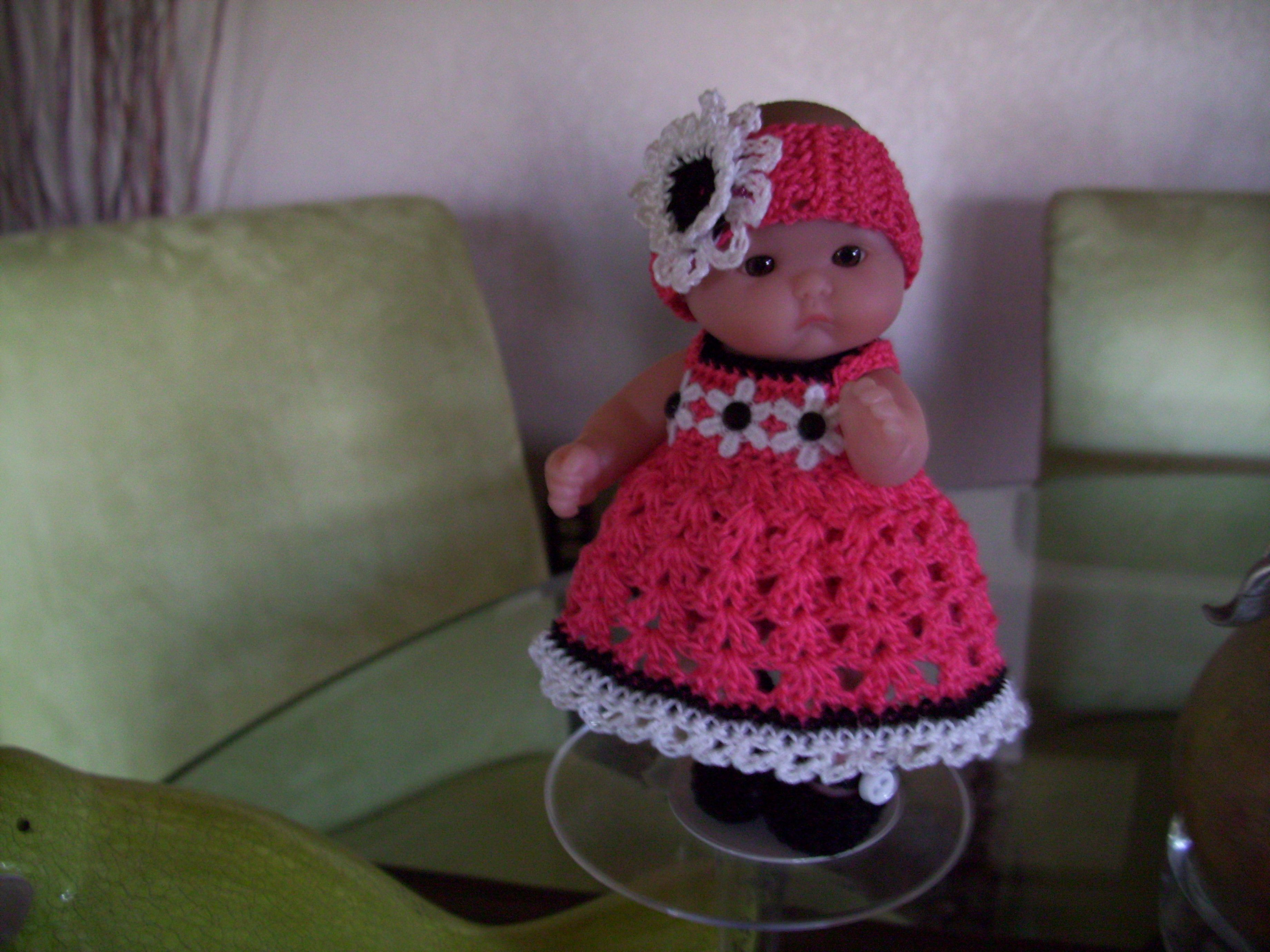 "Berenguer 5"" Baby Dolls Salmon dress 132"