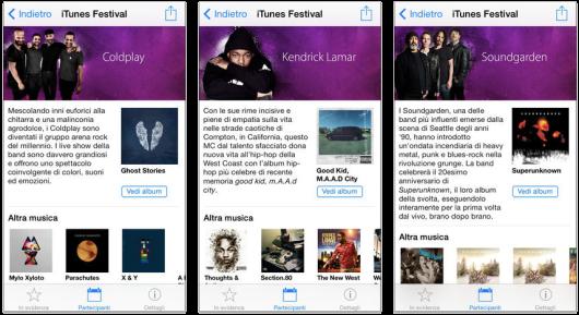 iTunes Festival: Apple rilascia la nuova applicazione per seguire gratuitamente i concerti dal 12 al 16 Marzo - http://mobilemakers.org/itunes-festival-apple-rilascia-la-nuova-applicazione-per-seguire-gratuitamente-i-concerti-dal-12-al-16-marzo/