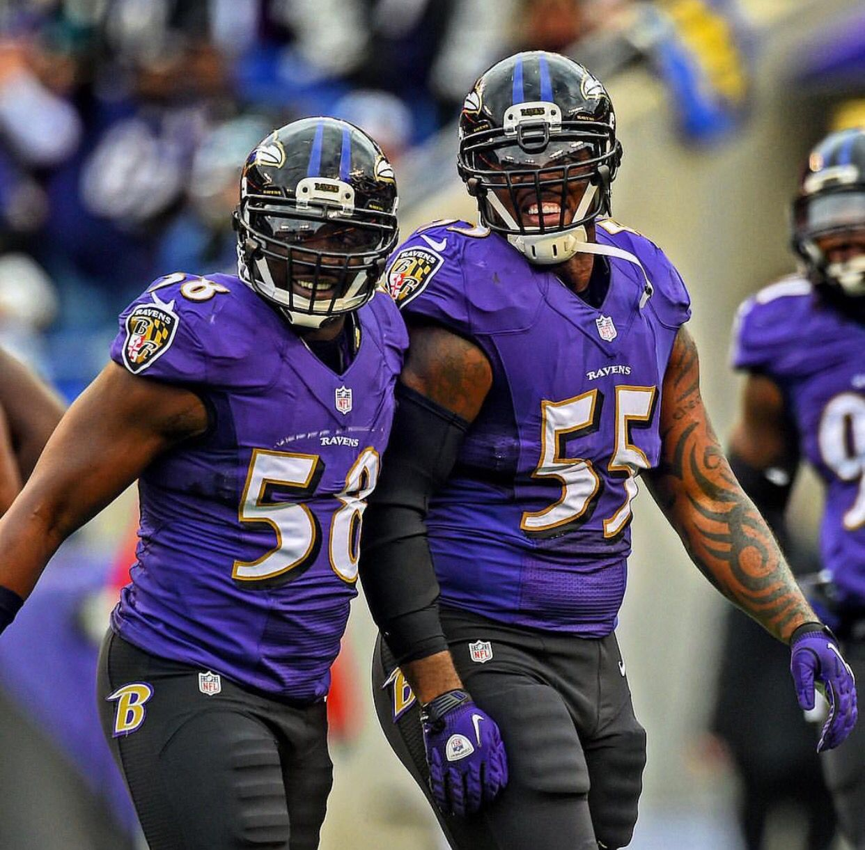 Terrell Suggs & Elvis Dumervil Baltimore Ravens Pinterest