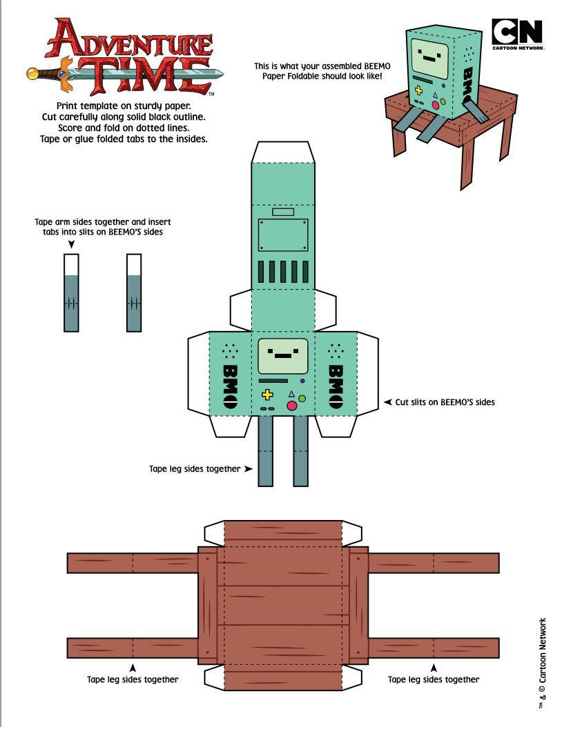 Cubeecraft BMO Of Adventure Time By Staphanysan On DeviantART
