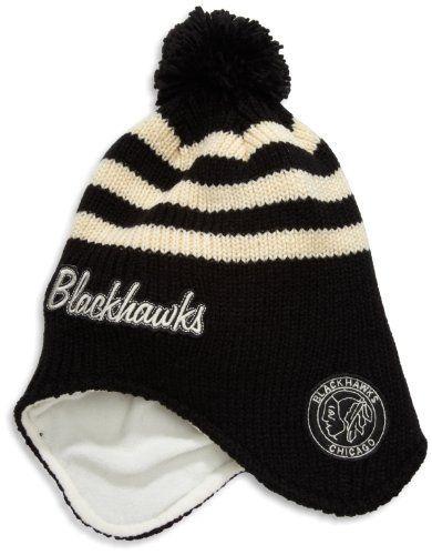 c9a60aff950 NHL Team Classics Dog-Earred Knit Hat With Pom