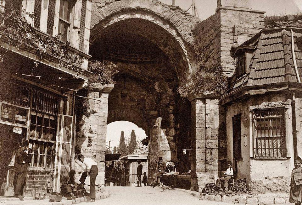 The Gate of Adrianople (Turkish Edirne Kapısı) It's where