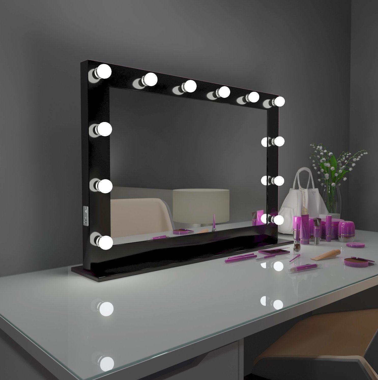 Hollywood Mirror Marilyn black 40 x 28 in Mirror, Vanity