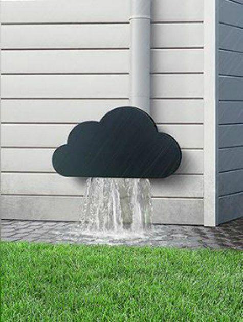 21 Creative Diy Downspout Ideas Diy Clouds Downspout Rain Gutters