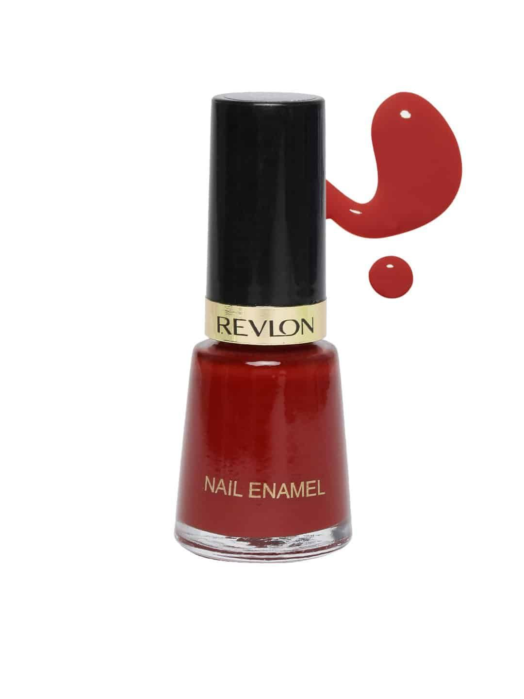 10 Best Red Nail Polish In India Red Nails Revlon Nail Polish