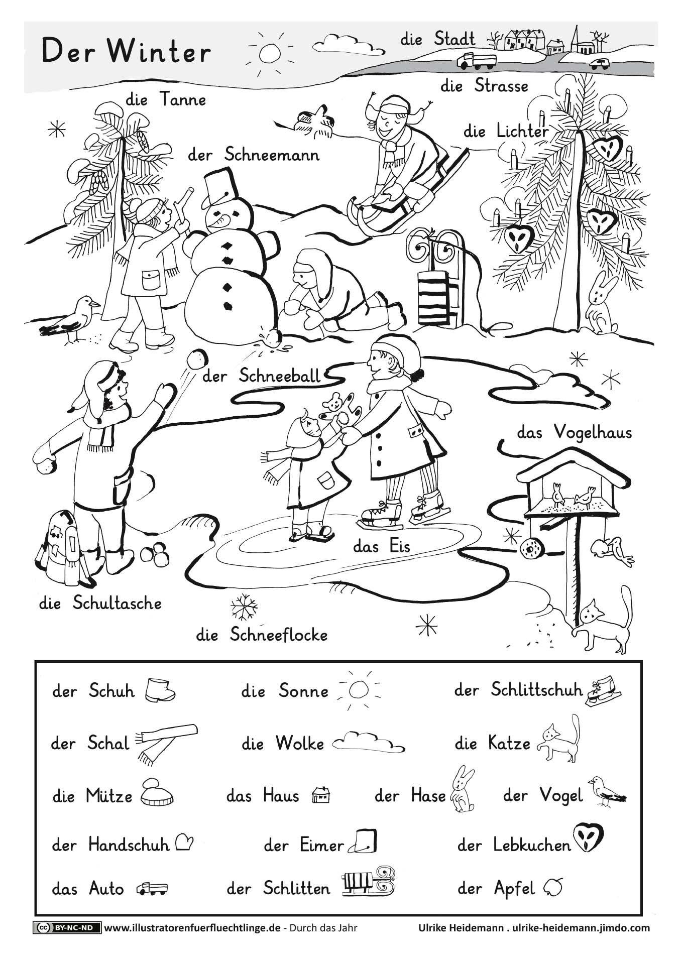 Download Als Durch Das Jahr Winter Heidemann