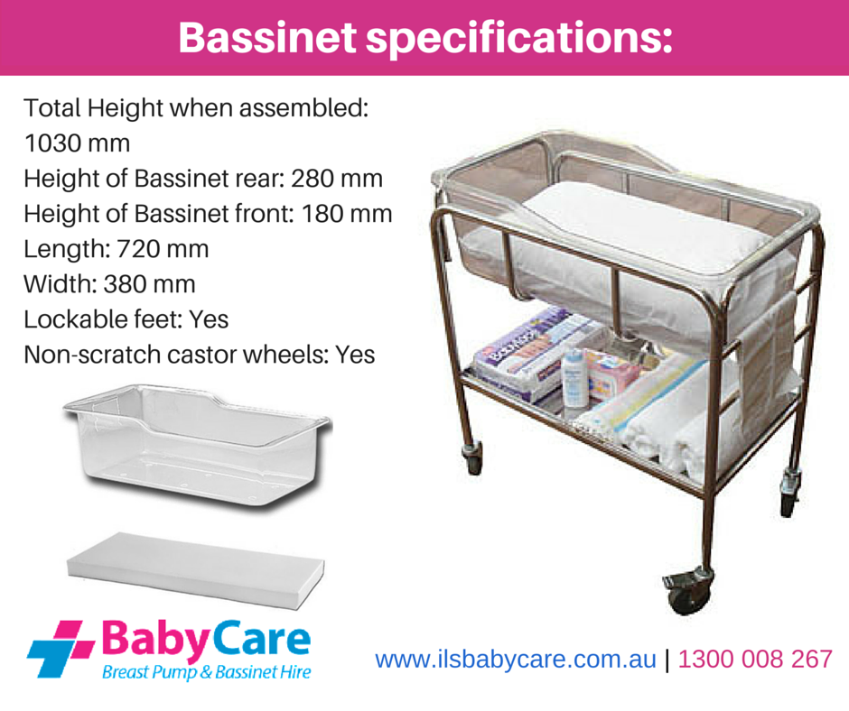 Wondering What The Specifications Of The Hospital Bassinet Are