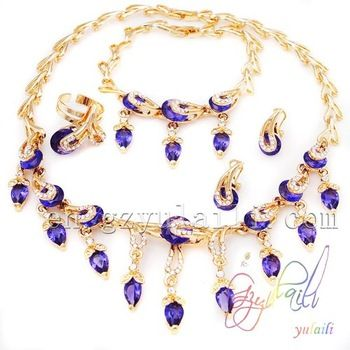 Dubai gold price saudi arabic new design jewelry set imitation