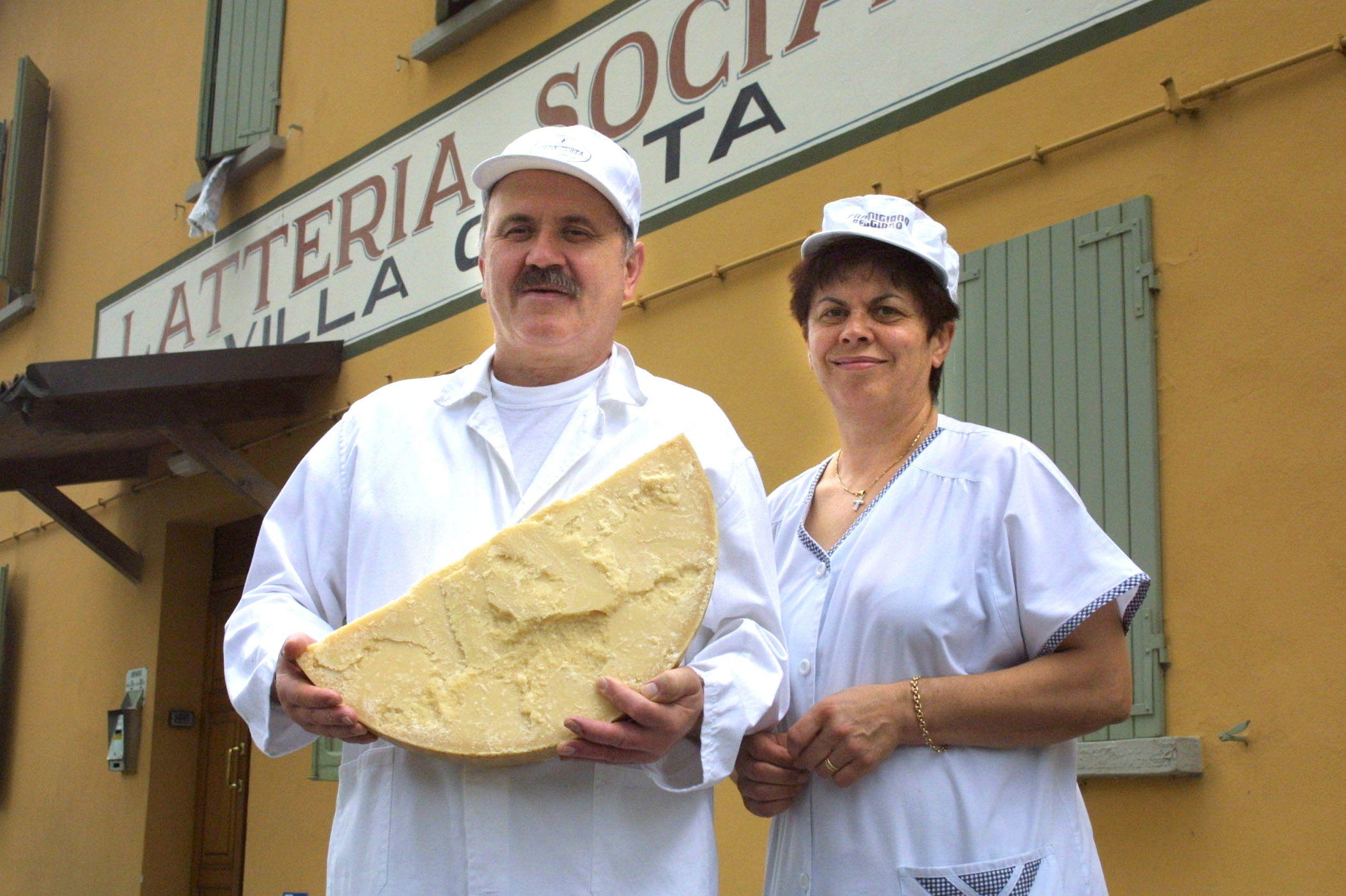 Caseificio e Parmigiano-Reggiano