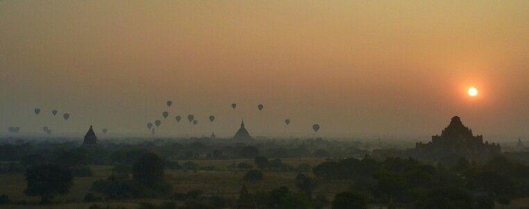 Sunrise at Bagan Archaeological History