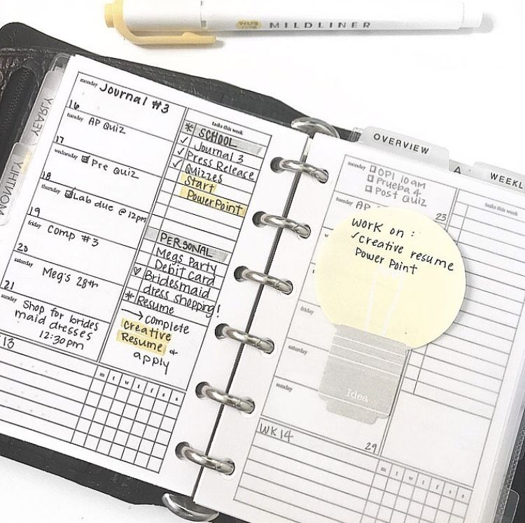 College student planner inpso! @madyplans   College Planning