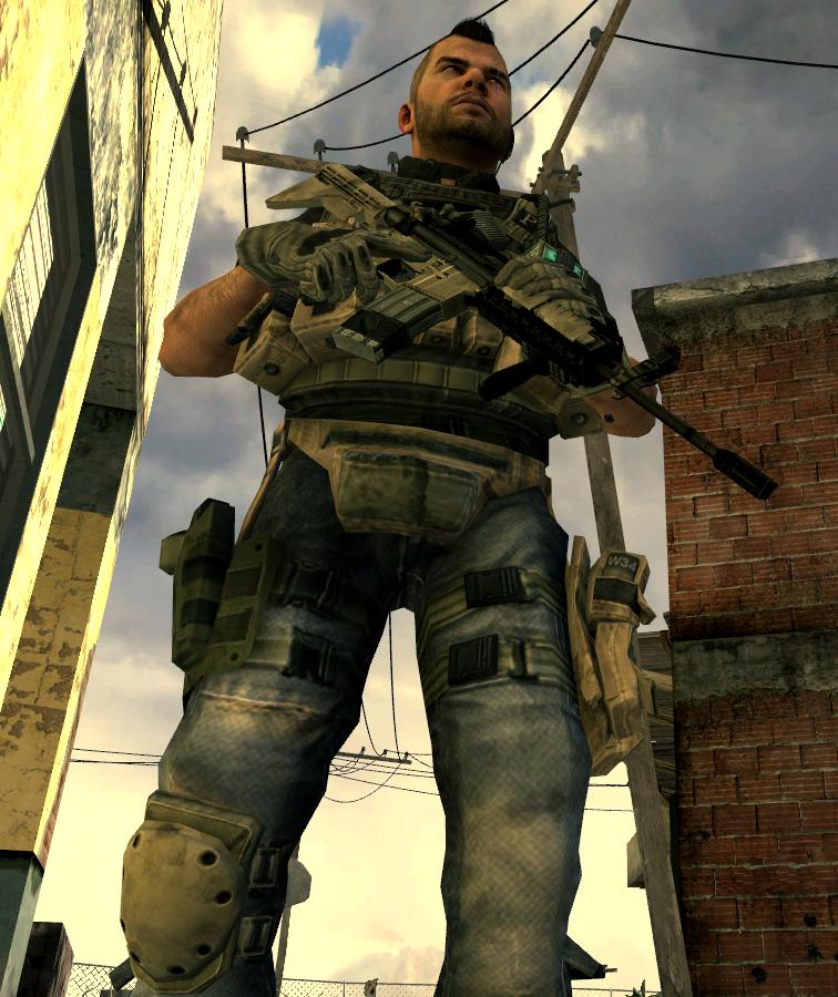 Call Of Duty Modern Warfare 2 Captain John Soap Mactavish Task