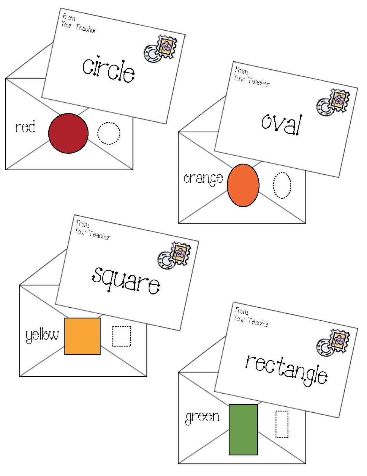 Shape Letters