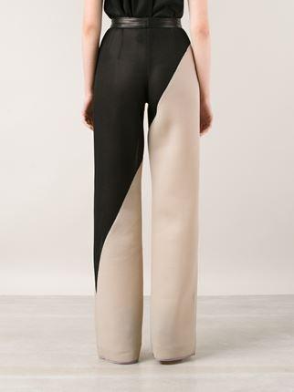 brushstroke mesh trouser