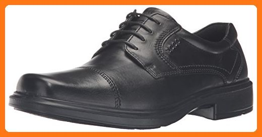 bc10432cdb7d ECCO Men s Helsinki Cap-Toe Oxford Dress Shoe