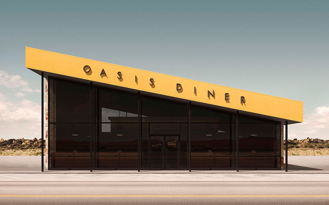 Creating Different Perspectives  Image : Oasis Diner Series II - 2013  #thefuturist #editorials #geebird&bamby