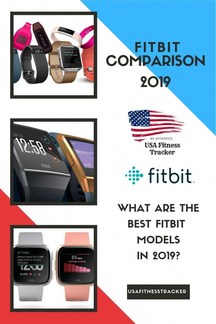 Best Fitbit comparison chart 2019- Which Fitbit watch is the best for you?- Fitbit Versa, Fitbit Ion...