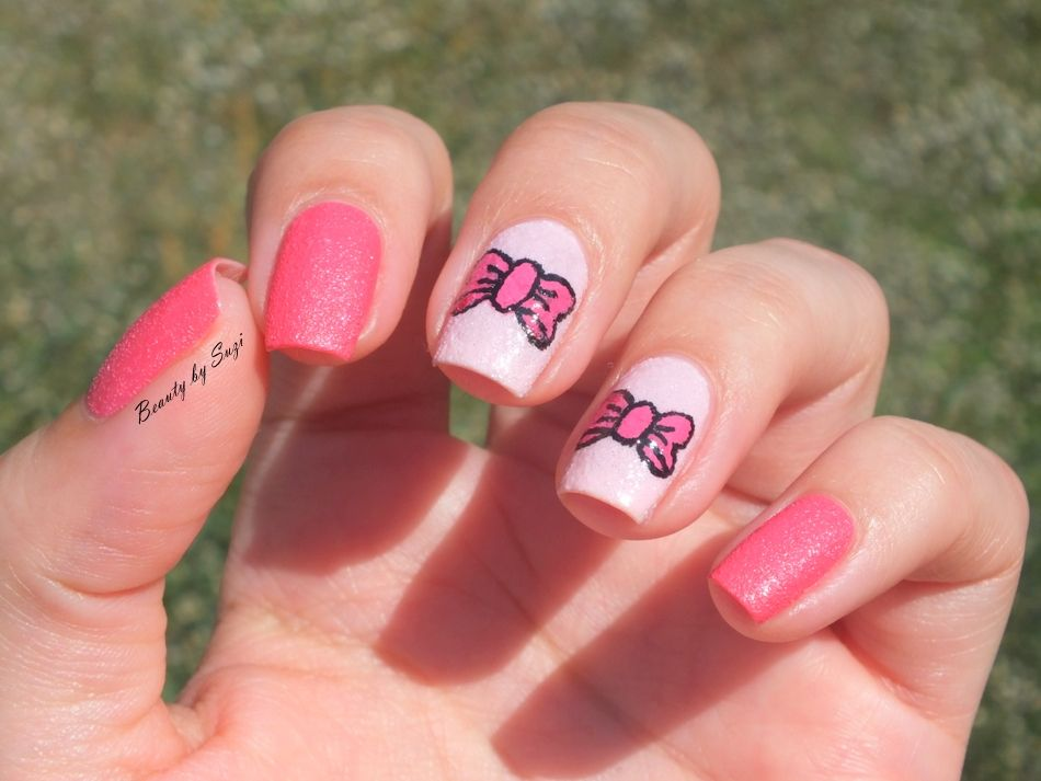 Pink Ribbon Nail Art | Nail Art | Pinterest | Pink ribbons, Beauty ...