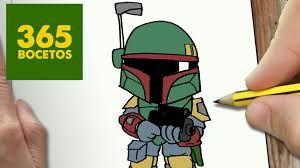 Resultado De Imagen De Kawaii Star Wars 365bocetos Kawaii Star