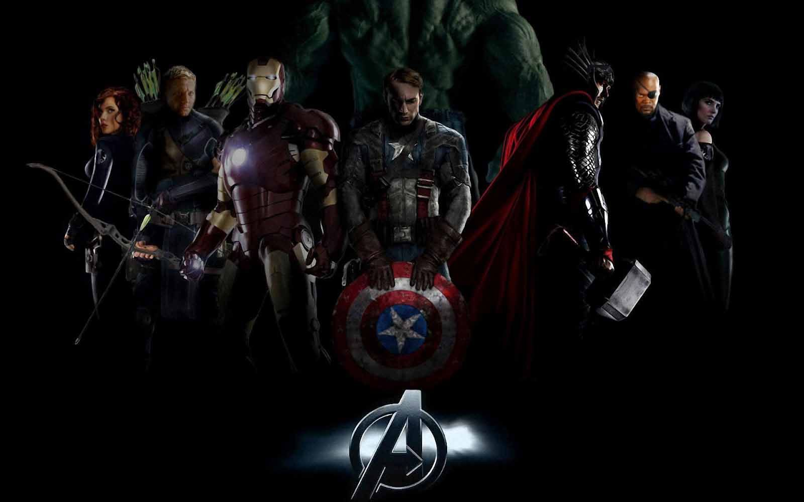 Avengers Cartoon Wallpaper 1280720 Avengers Wallpaper 38