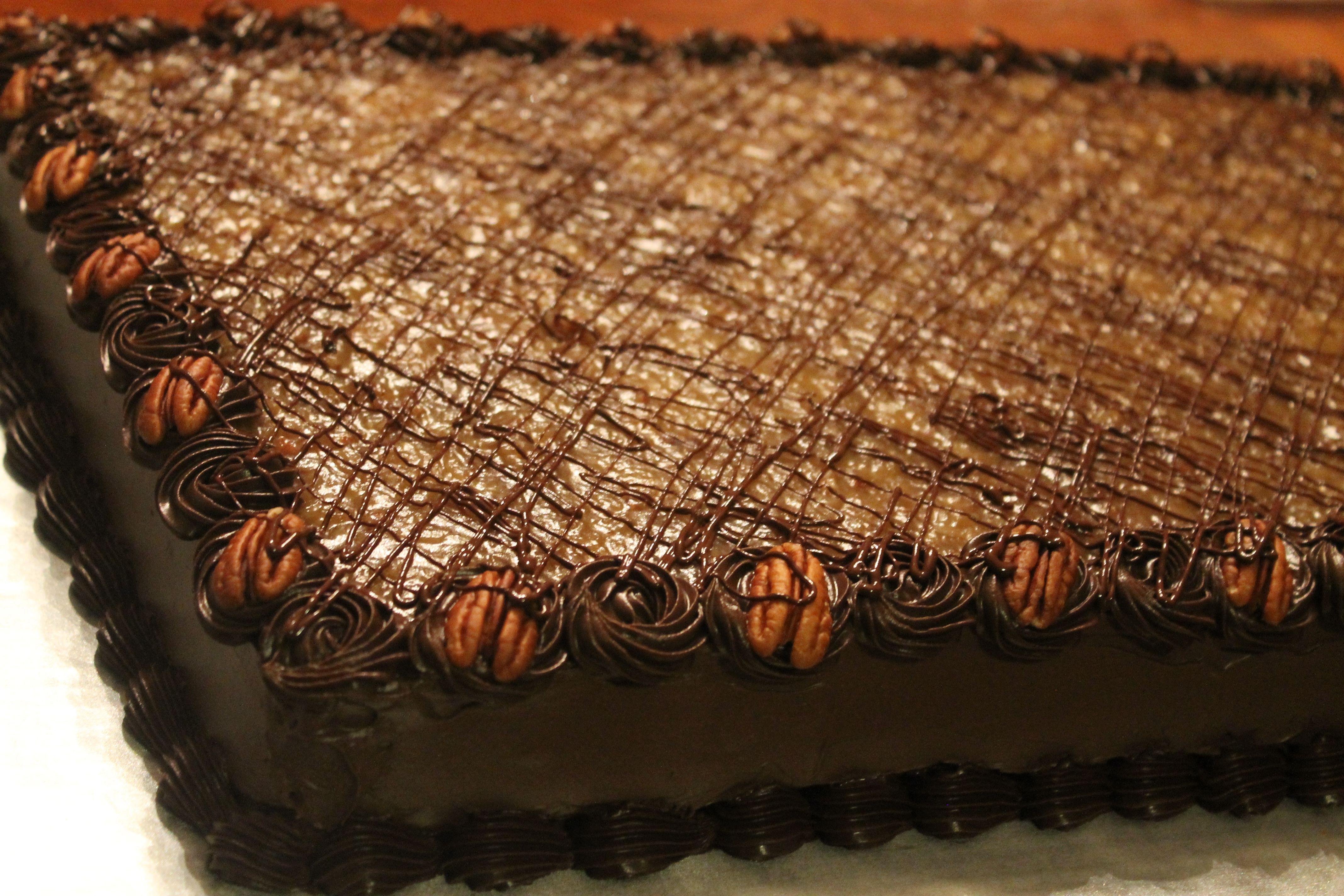 German Chocolate Sheet Cake Germanchocolate Sheetcake With