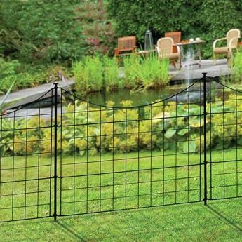 2 Ft H X 2 5 Ft W Zippity Garden Fence Panel Fences In